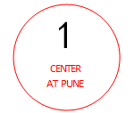 1 center at bhandarkar road pune