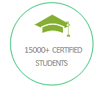 15000+ Certified Students